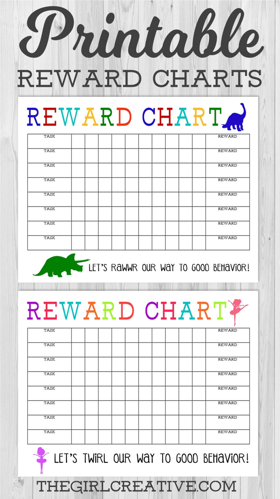 40 Printable Reward Charts For Kids (Pdf, Excel & Word) - Free Printable Incentive Charts For Teachers