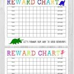 40 Printable Reward Charts For Kids (Pdf, Excel & Word)   Free Printable Sticker Charts