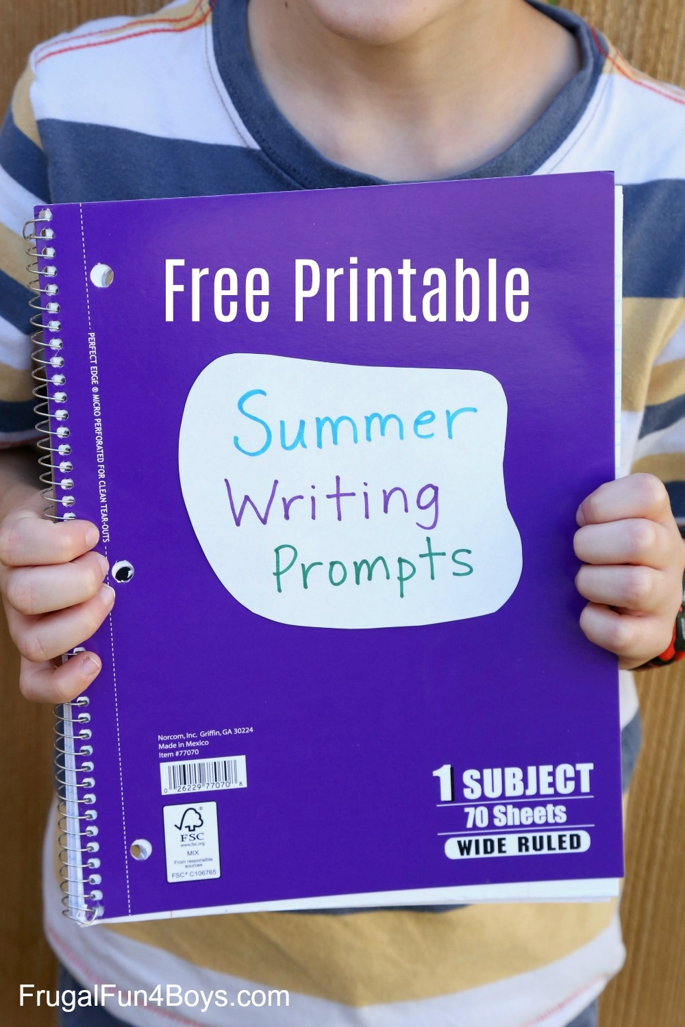 40 Printable Writing Prompts For 3Rd, 4Th, And 5Th Graders - Frugal - Free Printable Stories For 4Th Graders
