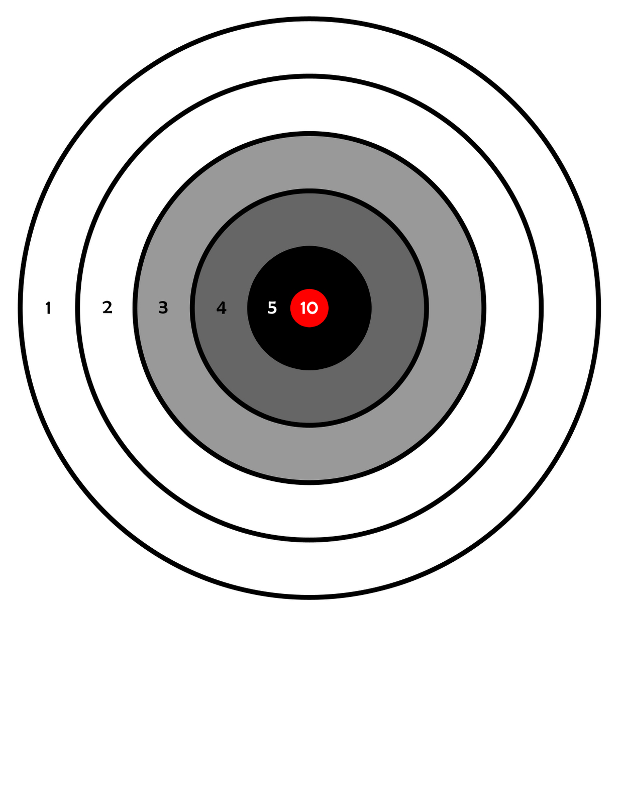 411Toys: Free Printable Airsoft Targets Including Zombies | A - Free Printable Targets