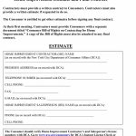 44 Free Estimate Template Forms [Construction, Repair, Cleaning]   Free Printable Home Improvement Contracts