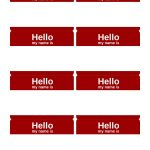 47 Free Name Tag + Badge Templates ᐅ Template Lab   Free Printable Name Tags For Students