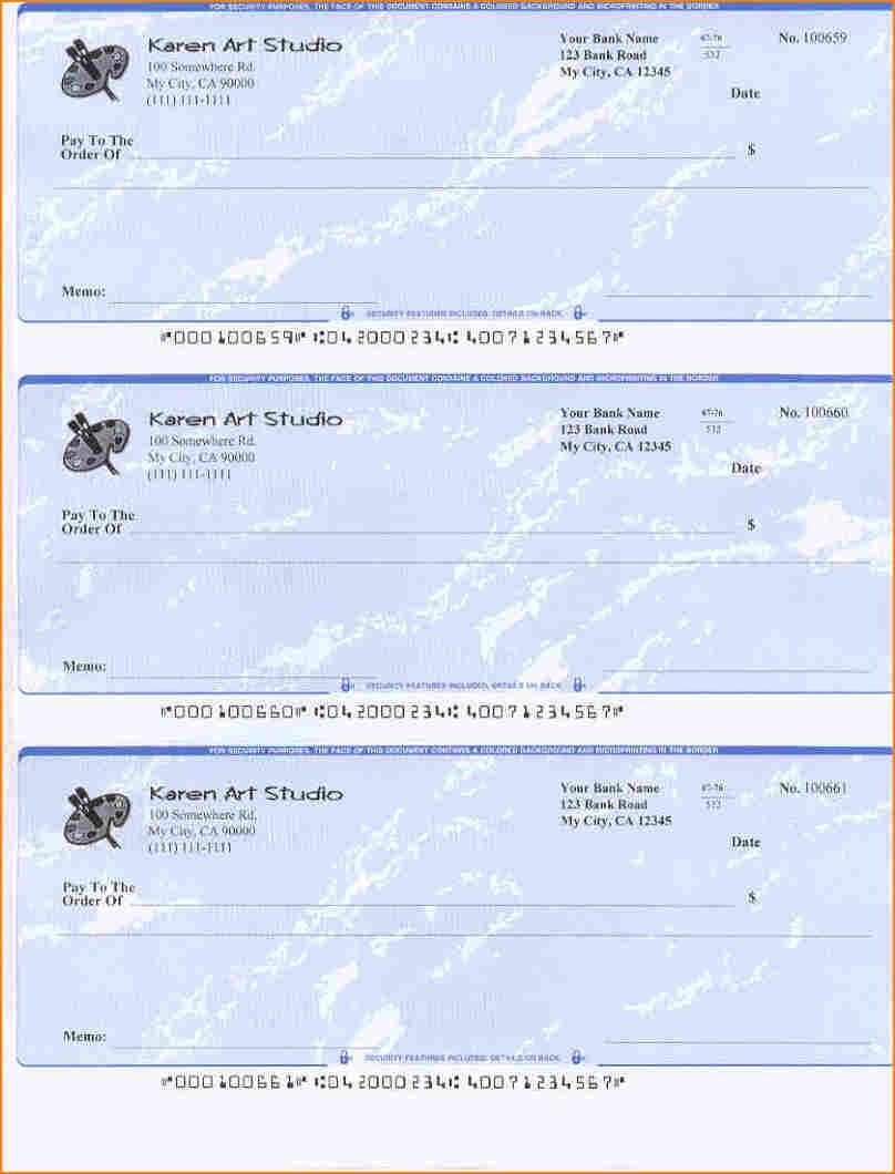 5+ Blank Payroll Check Paper | Secure Paystub | Chicano Art In 2019 - Free Printable Checks Template