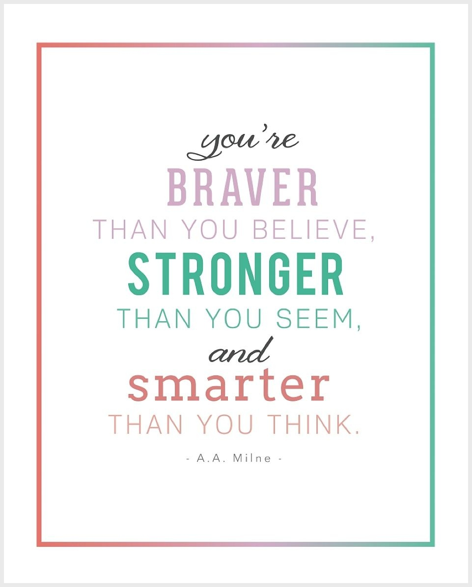 5 Free Printable Inspirational Children's Quotes | Thoughtful - Free Printable Inspirational Quotes