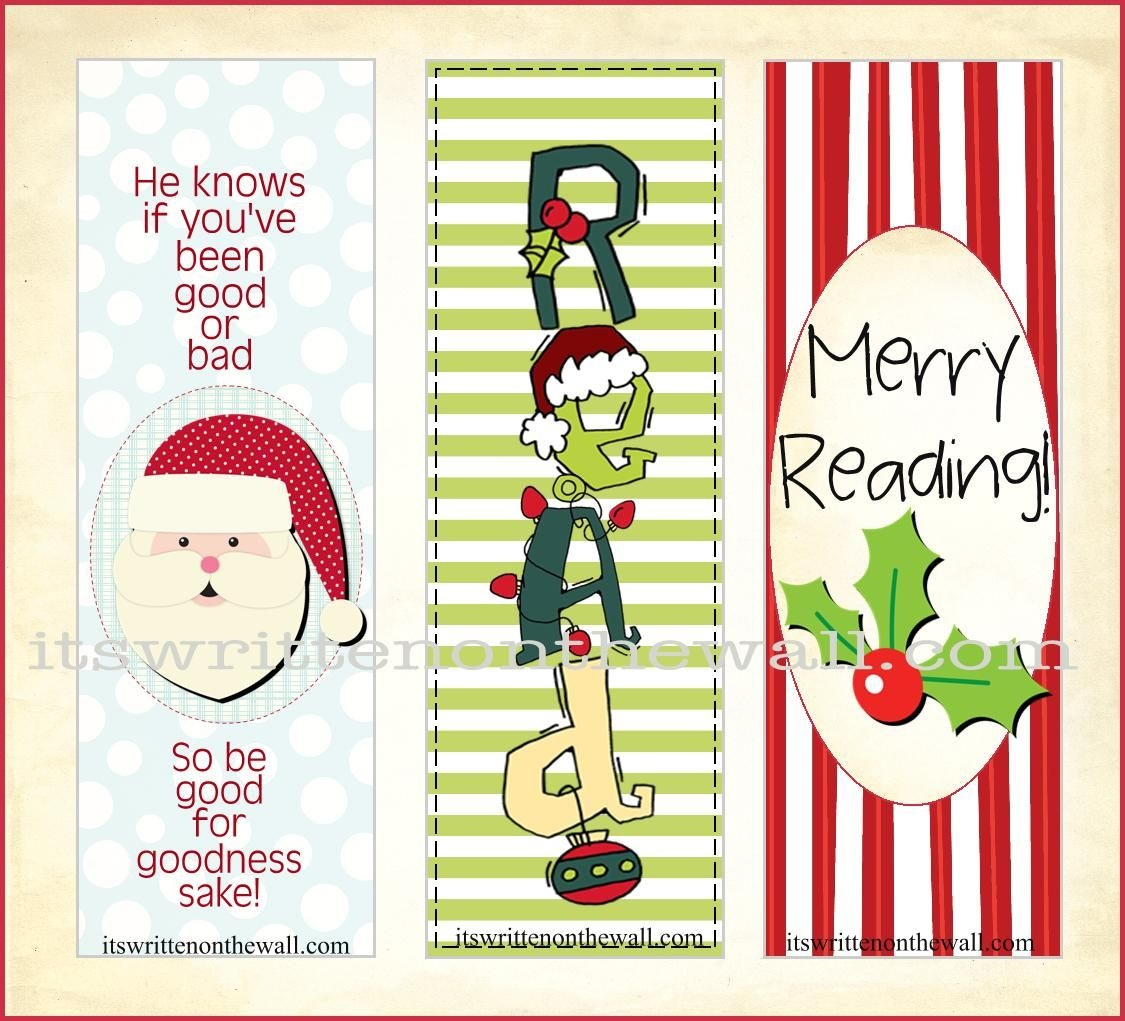 5 Images Of Free Printable Christmas Bookmarks To Color | Crafts - Free Printable Bookmarks For Christmas
