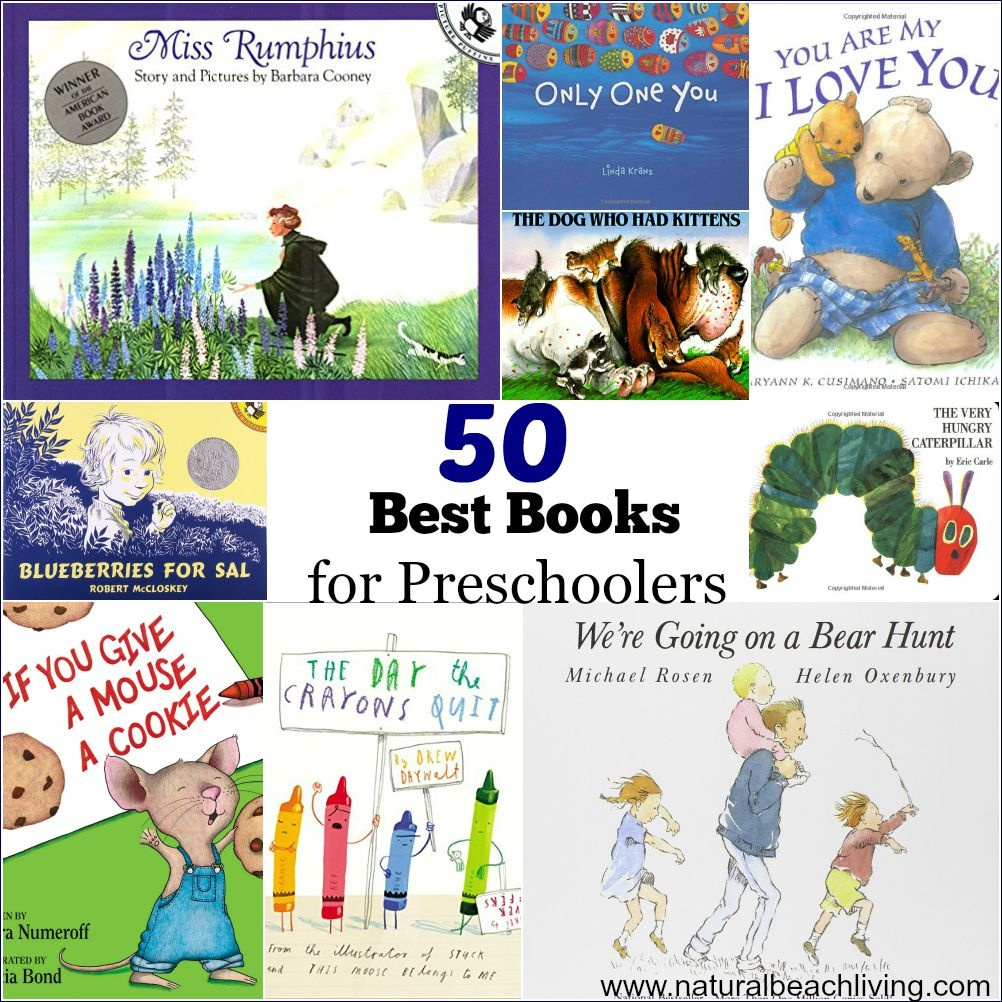 50 Best Books For Preschoolers - Free Printables Reading Logs - Free Printable Reading Books For Preschool