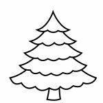 50 Christmas Tree Printable Templates | Kittybabylove   Free Printable Christmas Tree Template