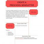 50 Creative Preschool Newsletter Templates (+Tips) ᐅ Template Lab   Free Printable Preschool Newsletter Templates