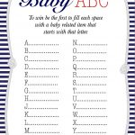 50+ Free Baby Shower Printables For A Perfect Party   Page 21   Free Printable Templates For Baby Shower Games