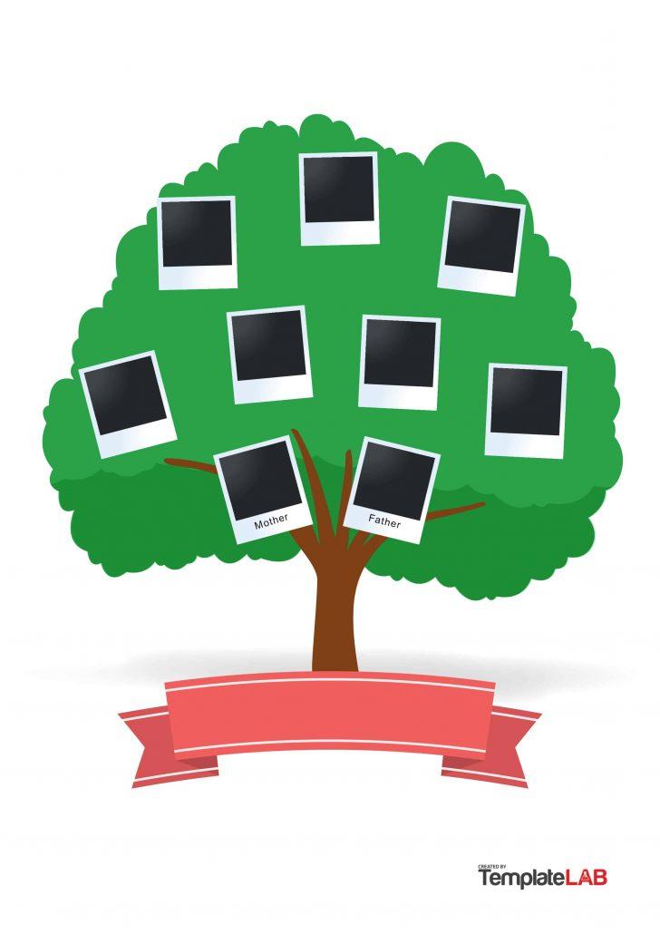 Free Printable Family Tree Template