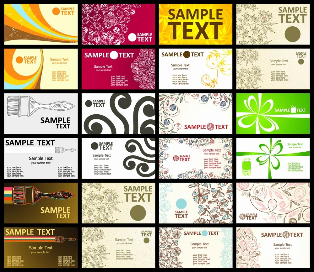 50 Luxury Free Printable Business Card Templates For Word - Free Printable Business Card Templates For Word