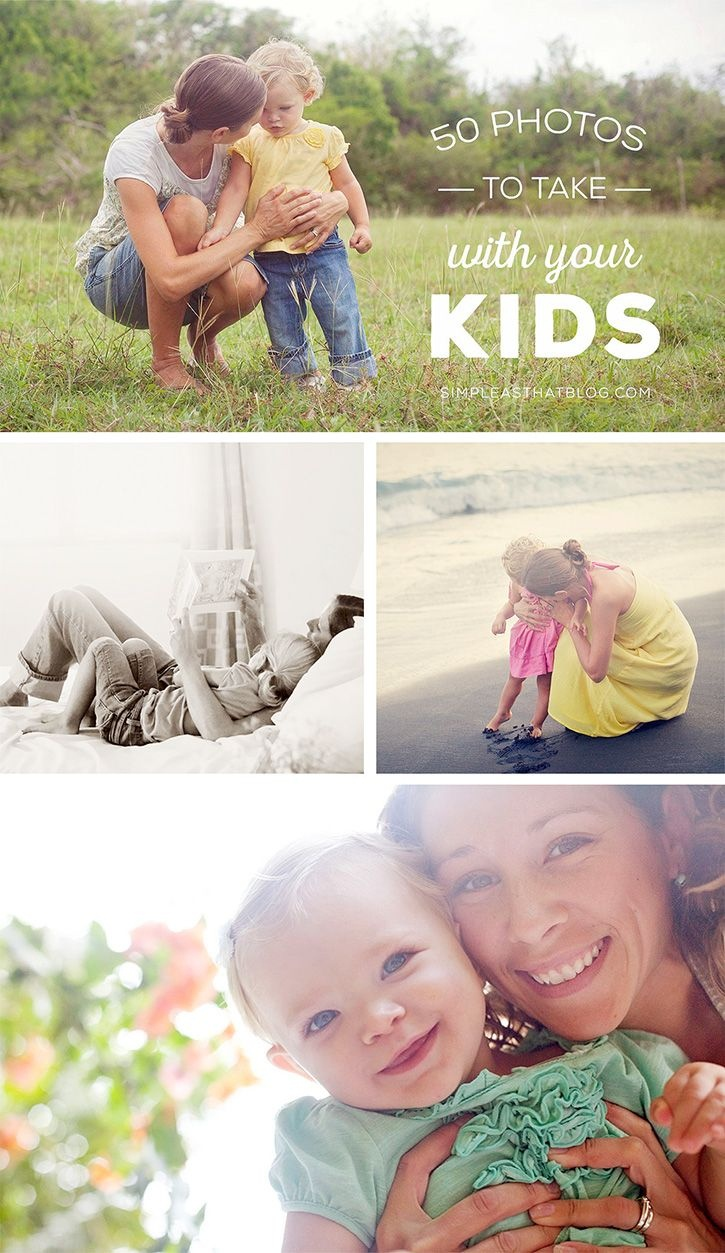50 Photos To Take With Your Kids Free Photo Checklist | All Time - Free Printable Smile Your On Camera