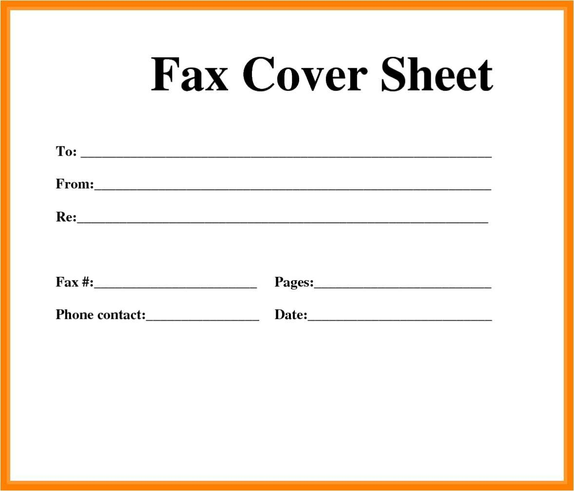 53 Fresh Fax Cover Sheet Template Word 2013 - All About Resume - Free Printable Cover Letter For Fax