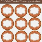 56 Cute Mason Jar Labels | Kittybabylove   Free Printable Jar Label Templates
