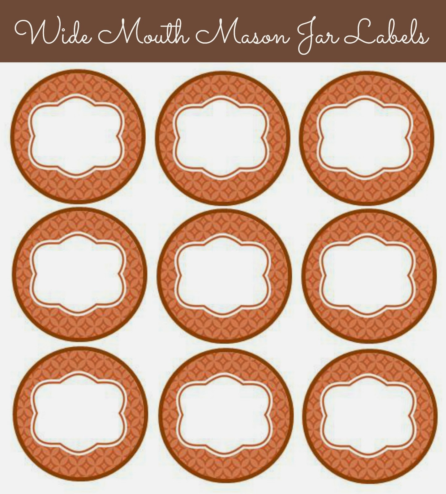 56 Cute Mason Jar Labels | Kittybabylove - Free Printable Jar Label Templates