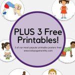 58 Fun And Easy Yoga Poses For Kids (Printable Posters) | Classroom   Free Printable Yoga Poses