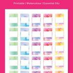 5Ml Rollerball Labels Blank | Printable 10Ml Essential Oil Labels   Free Printable Roller Bottle Labels