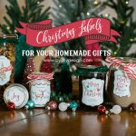 6 Adorable Free Labels That Will Make Your Diy Christmas Gifts A   Diy Christmas Gift Tags Free Printable