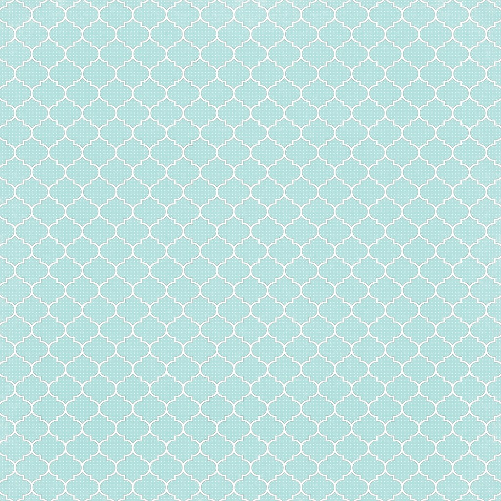 6 Light Turquoise Dotted Moroccan Tile - Free Printable Di…   Flickr - Free Printable Moroccan Pattern