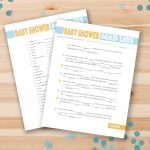 67 Free Printable Baby Shower Games   Free Printable Baby Shower Games For Twins