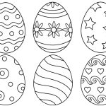 7 Places For Free, Printable Easter Egg Coloring Pages   Free Printable Easter Stuff