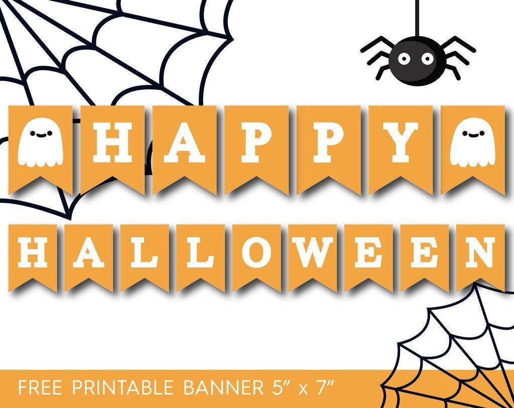 7 Printable Halloween Banners - Printables 4 Mom - Free Printable Halloween Banner Templates