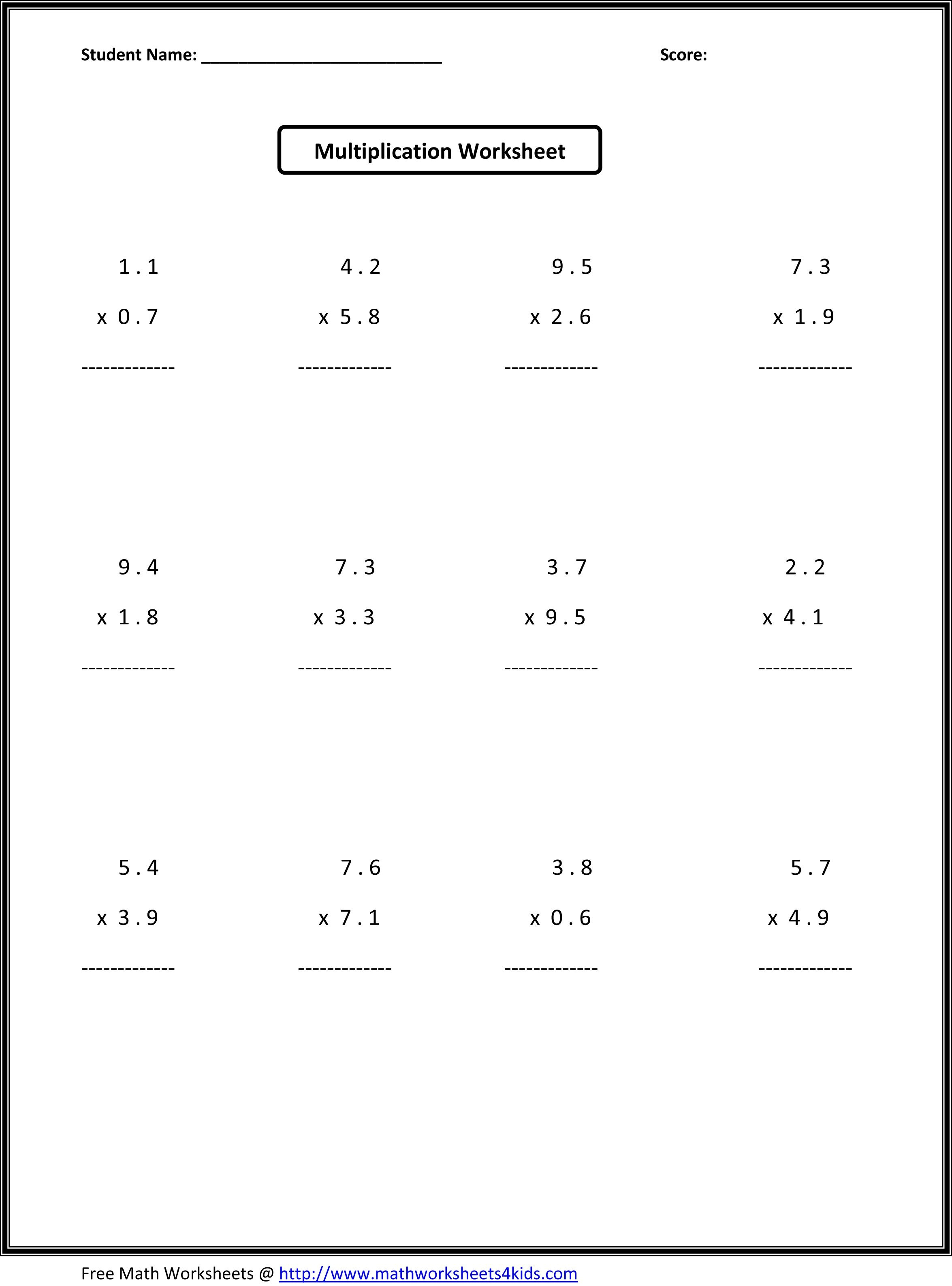 7Th Grade Math Worksheets | Value Worksheets Absolute Value - Free Printable 7Th Grade Math Worksheets