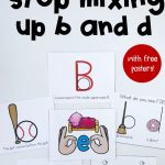 8 Ways To Help Kids Stop Making B And D Letter Reversals | English   Literacy Posters Free Printable