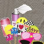 80S Printable Photo Booth Props   Paper And Cake Paper And Cake   80S Photo Booth Props Printable Free
