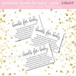"""9 """"bring A Book Instead Of A Card"""" Baby Shower Invitation Ideas   Bring A Book Instead Of A Card Free Printable"""