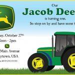 94+ John Deere Printable Birthday Invitations   John Deere Birthday   Free Printable John Deere Birthday Invitations