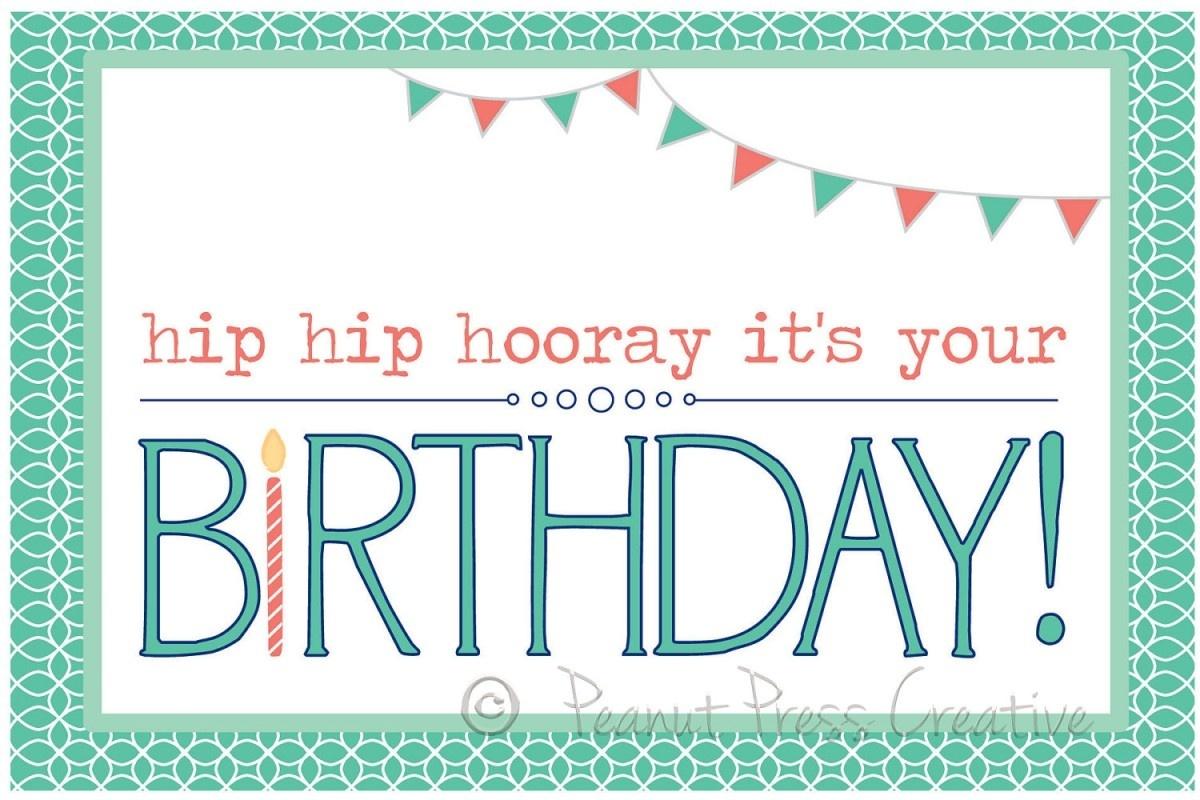 97+ Birthdays Cards To Print Free - Printable Birthday Card Maker - Free Printable Birthday Cards For Brother