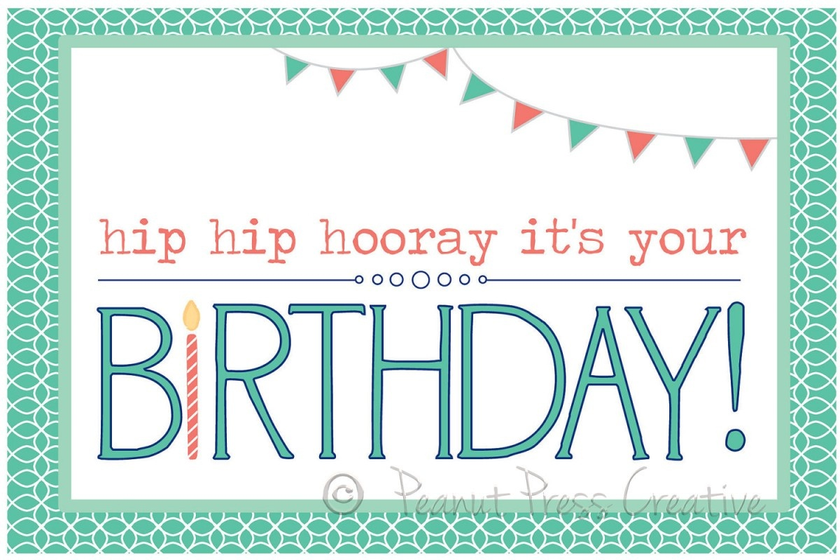 97+ Birthdays Cards To Print Free - Printable Birthday Card Maker - Free Printable Happy Birthday Cards Online