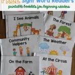 A Ton Of Sight Word Readers For Free! Great For Beginning Readers   Free Printable Reading Books For Preschool