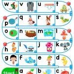 A Z Lower Case Alphabet   Esl Board Game Worksheet   Free Esl   Free Printable Alphabet Board Games