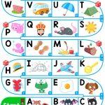A Z Upper Case Alphabet   Esl Board Game Worksheet   Free Esl   Free Printable Alphabet Board Games