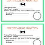 Adoption Certificate Templates. Adoption Certificate Template   Free Printable Adoption Certificate