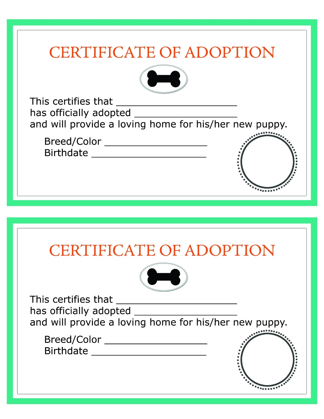 Adoption Certificate Templates. Adoption Certificate Template - Free Printable Adoption Certificate