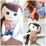 Adorable Free Fabric Doll Pattern   Meet Katy! — Sewcanshe | Free   Free Printable Cloth Doll Sewing Patterns