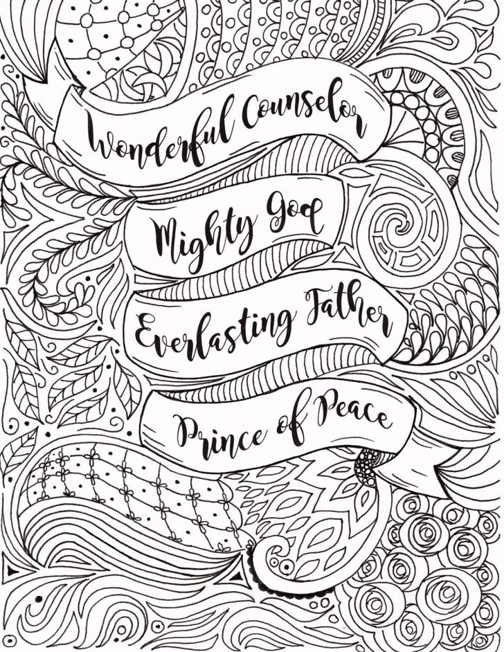 Free Printable Bible Christmas Coloring Pages