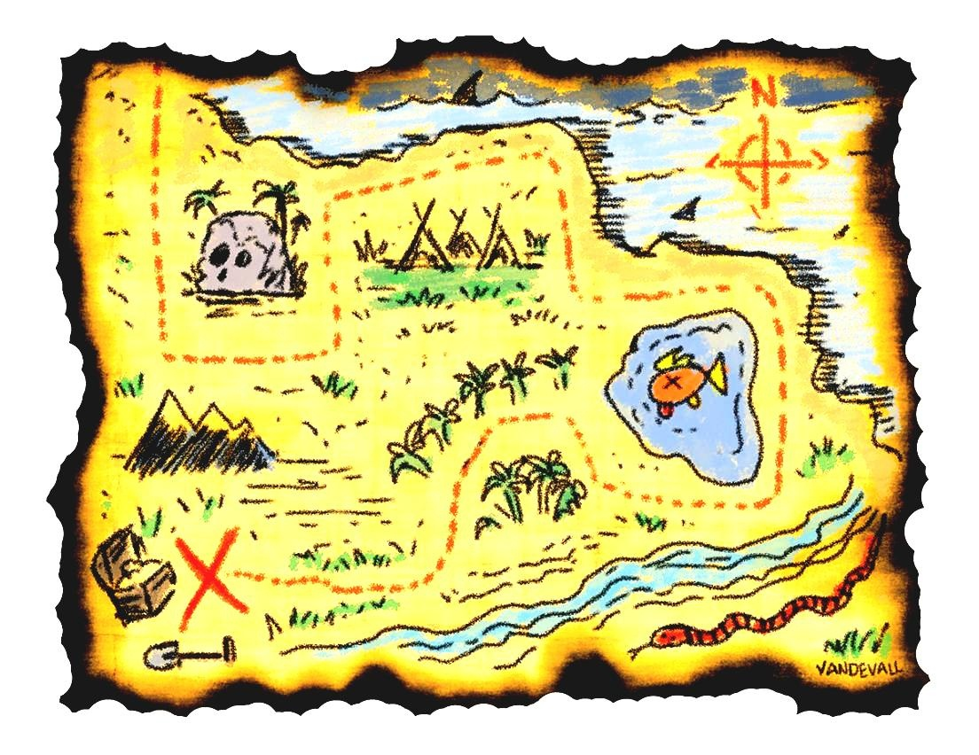 Adventure Map Clipart Printable Treasure Maps For Kids In - Clipartpost - Free Printable Pirate Maps