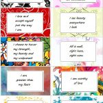 Affirmation Cards   Enchanted Pixie   Free Printable Positive Affirmation Cards
