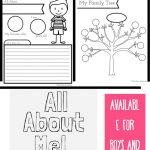 All About Me Worksheet: A Printable Book For Elementary Kids   Free Printable Books For Kindergarten