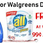 All Laundry Detergent Deal   Free At Walgreens Or $0.99 At Cvs!   Free All Detergent Printable Coupons