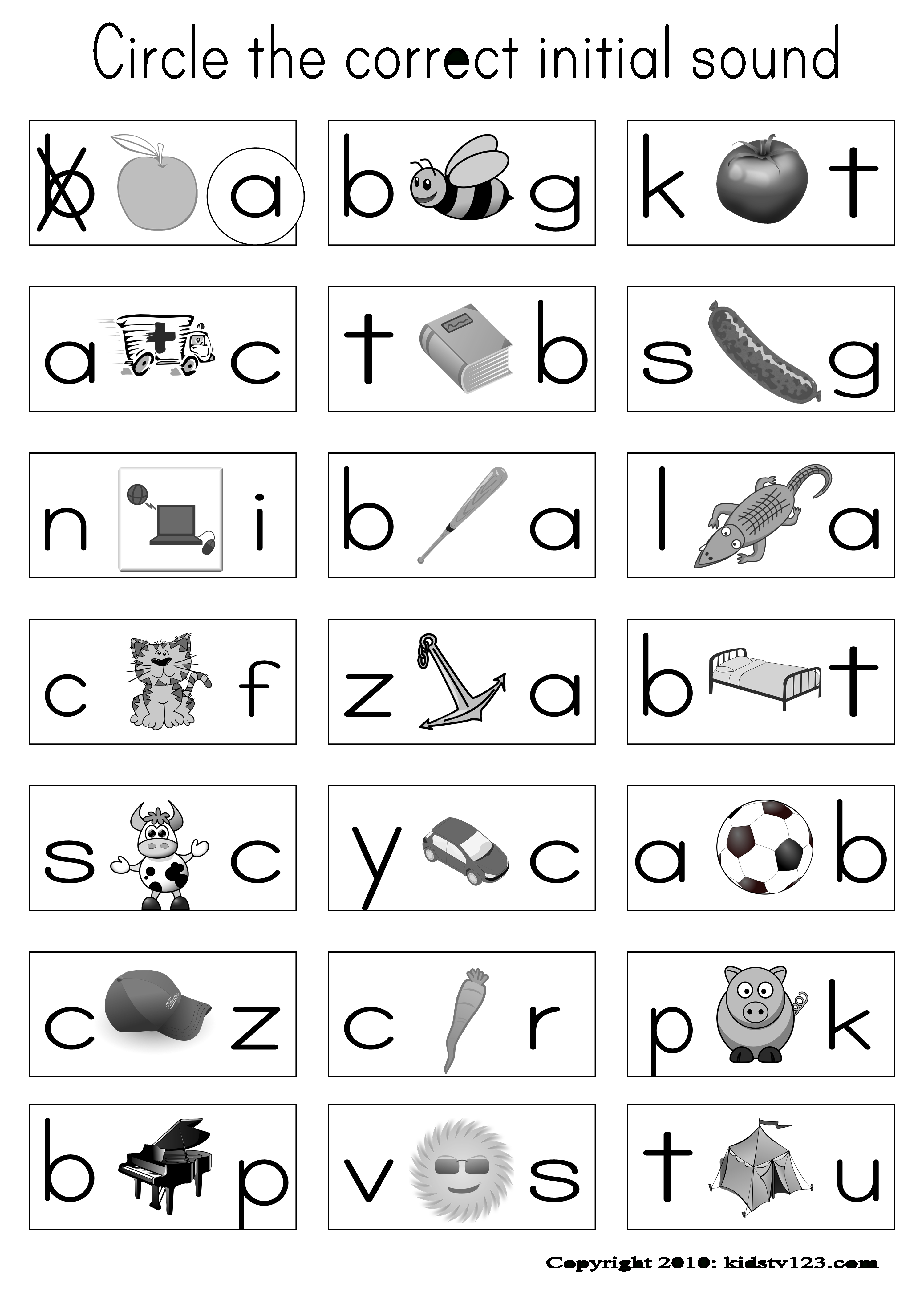 Alphabet & Phonics Worksheets | Phonics | Phonics Worksheets - Free Printable Phonics Assessments