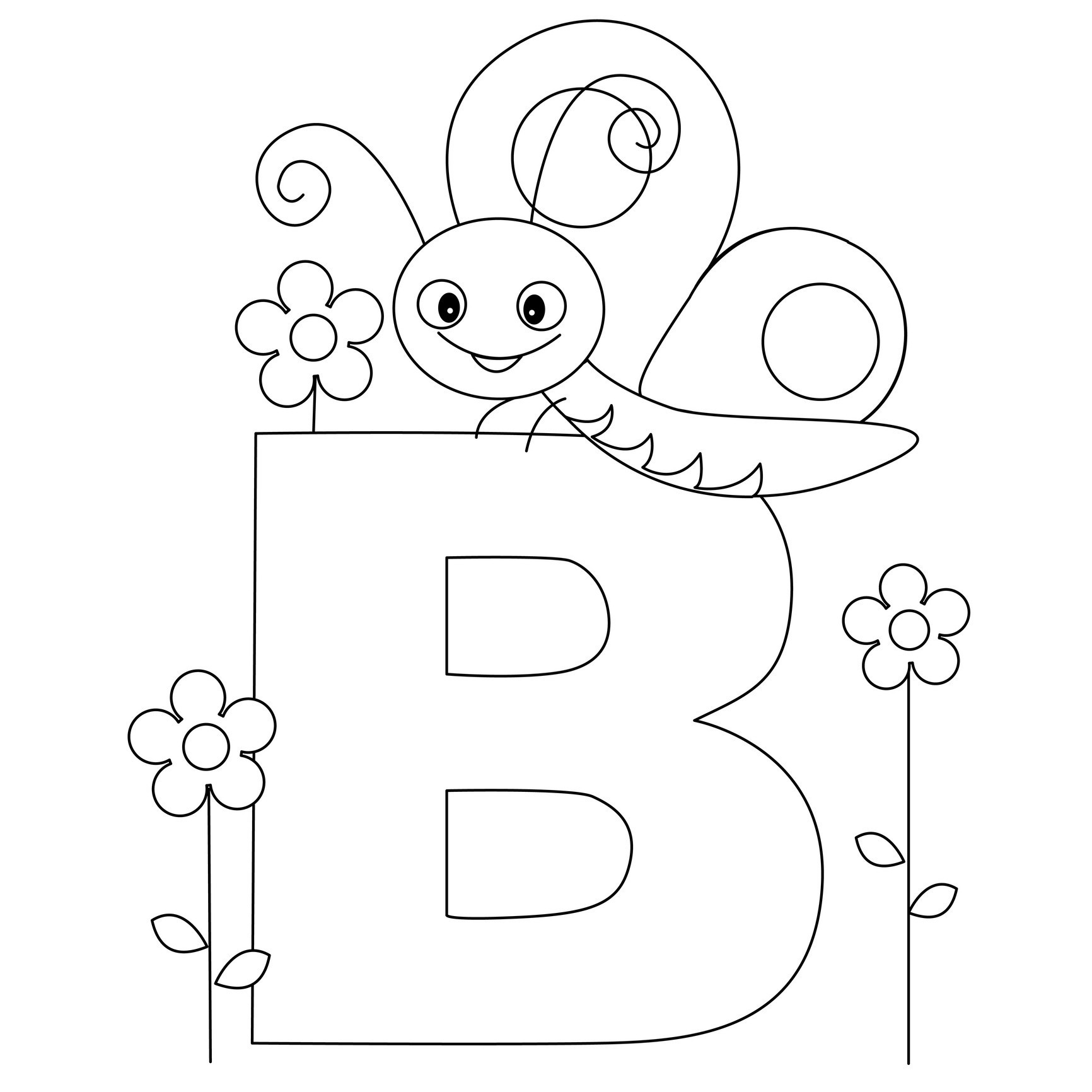 Alphabet Printable Coloring Pages   Presidencycollegekolkata - Free Printable Preschool Alphabet Coloring Pages