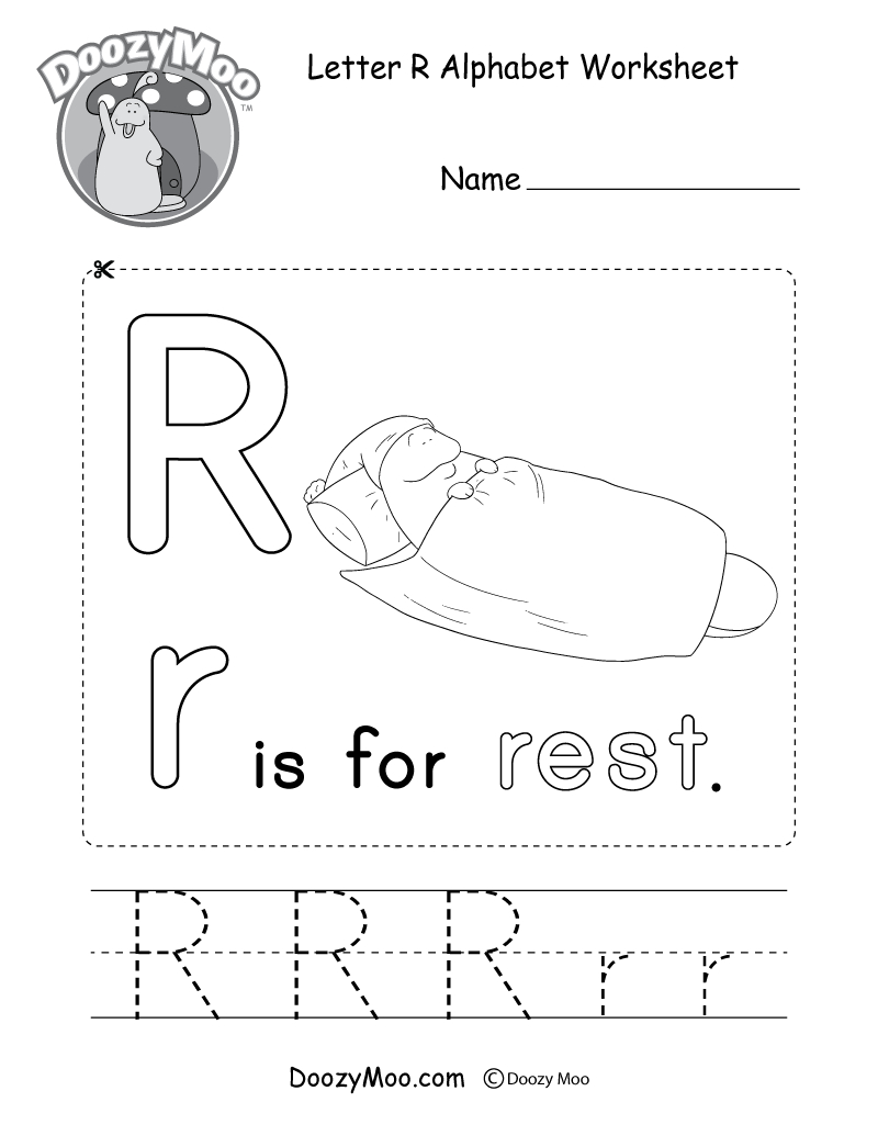 Alphabet Worksheets (Free Printables) - Doozy Moo - Free Printable 5 W's Worksheets