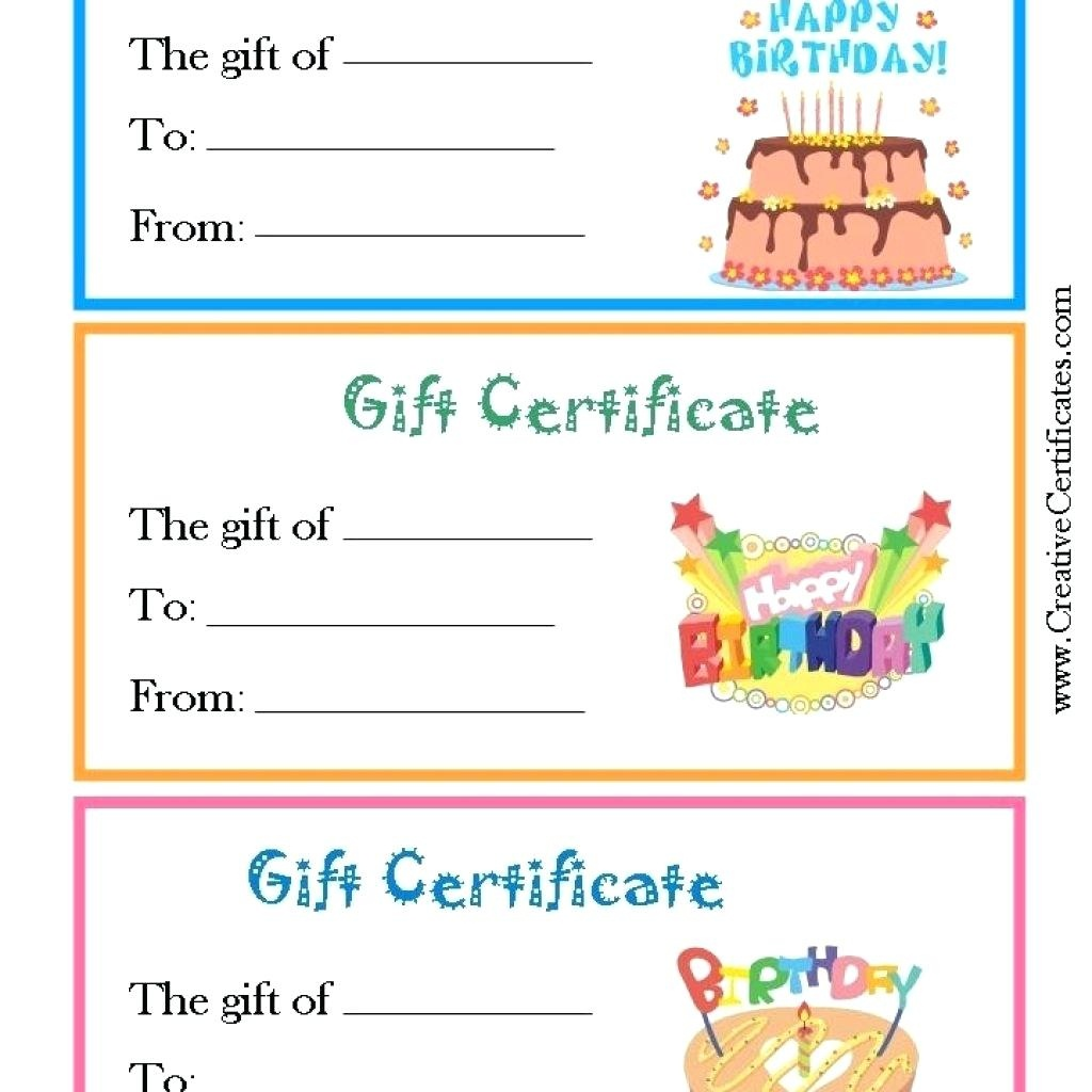 Amazon Gift Receipt General Shopping Certificate Template - Free Printable Blank Birthday Coupons
