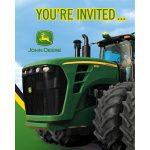 Amazon: John Deere Birthday Party Invitations, 8 Count: Toys   Free Printable John Deere Birthday Invitations