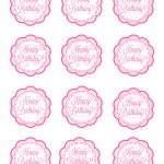 American Girl Free Cupcake Toppers Printable | These Could Also   Baptism Cupcake Toppers Printable Free